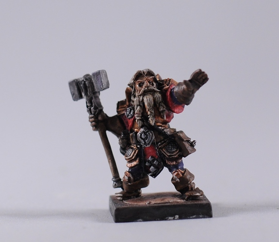 mantic dwarf priest