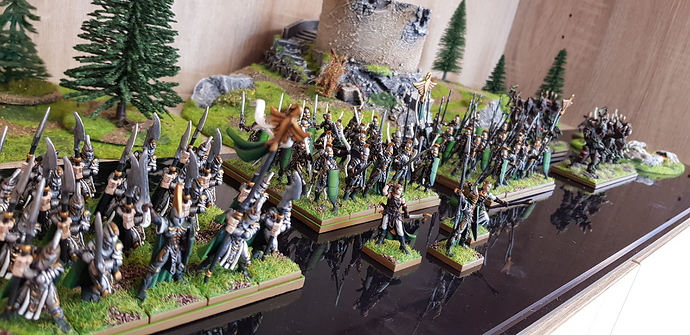 Mike's Elves Full Army Side